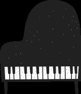 피아노 일러스트