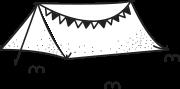 텐트 일러스트