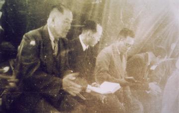 하나님 집회에 참석한 기성교회 목사들