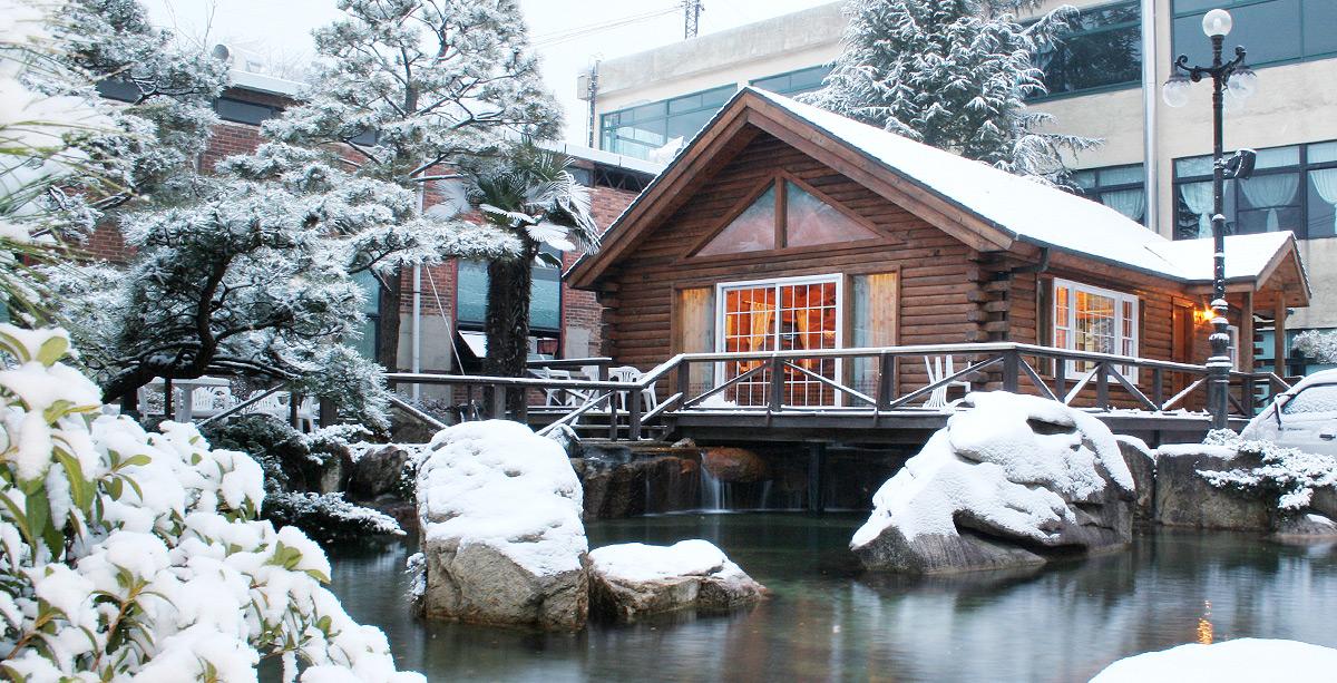 통나무집 사진