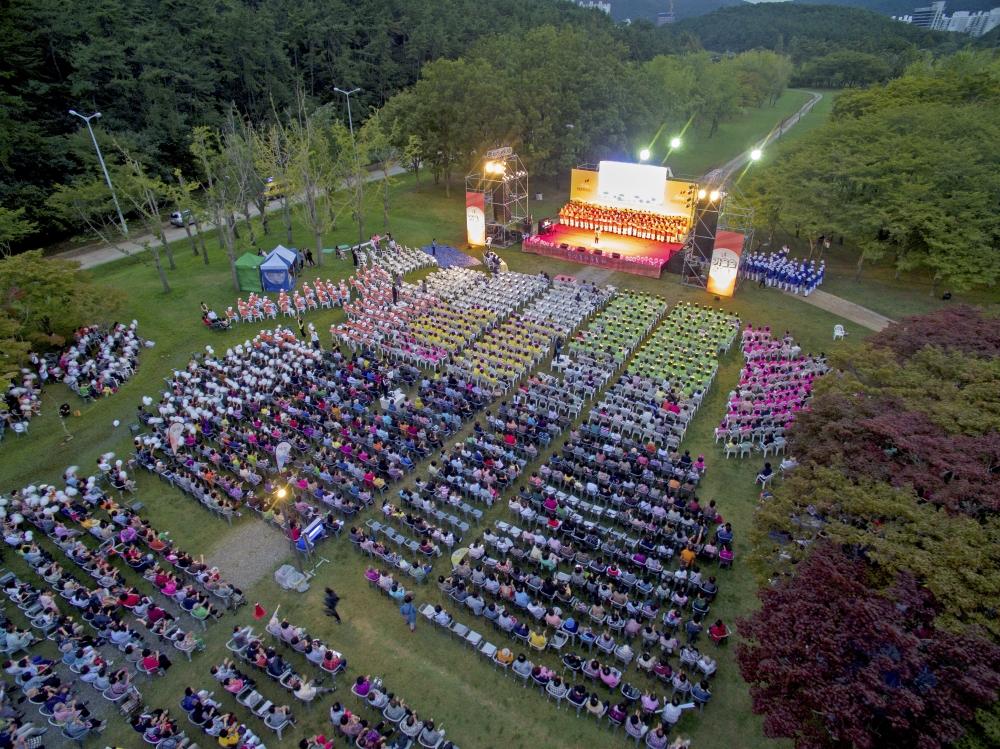 천부교, 신앙촌 가을 축제 개최