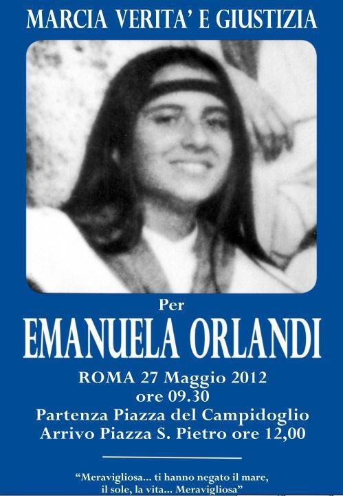 에마누엘라 실종 관련 포스터