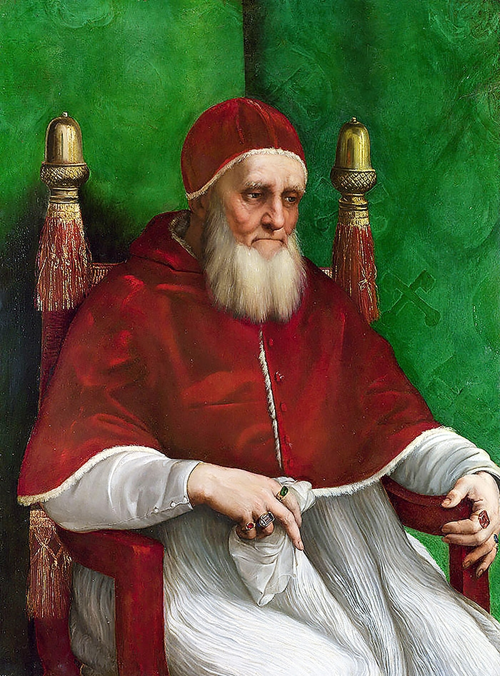 가톨릭의 교황 율리우스 2세