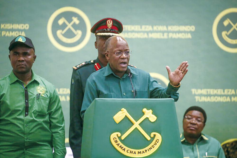 '코로나 와병설' 돌던 탄자니아 대통령 사망